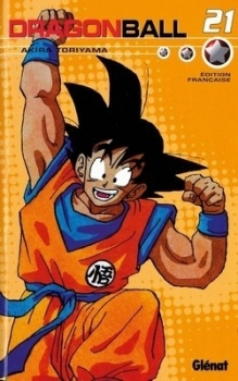 Couverture Dragon Ball, intégrale, tome 21