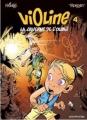 Couverture Violine, tome 4 : La caverne de l'oubli Editions Dupuis 2006