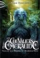 Couverture Les chevaliers d'émeraude, tome 02 : Les dragons de l'empereur noir Editions Michel Lafon (Poche) 2012