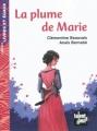 Couverture La Plume de Marie Editions Talents Hauts (Livres et égaux) 2012