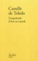 Couverture L'inquiétude d'être au monde Editions Verdier (Chaoïd) 2012