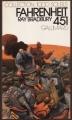 Couverture Fahrenheit 451 Editions Denoël (1000 Soleils) 1977