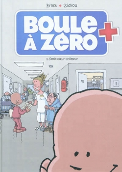 Couverture Boule à zéro, tome 1 : Petit coeur chômeur