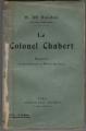 Couverture Le colonel Chabert Editions Calmann-Lévy 1921