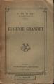 Couverture Eugénie Grandet Editions Calmann-Lévy 1926