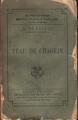 Couverture La peau de chagrin Editions Calmann-Lévy 1898