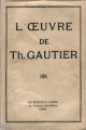 Couverture L'oeuvre Editions F. Schmid 1930