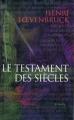 Couverture Le Testament des Siècles Editions J'ai Lu (Thriller) 2005