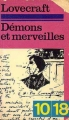 Couverture Démons et merveilles Editions 10/18 1979