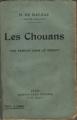 Couverture Les chouans Editions Calmann-Lévy 1922