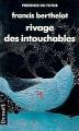 Couverture Rivage des intouchables Editions Denoël (Présence du futur) 1990