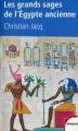 Couverture Les grands sages de l'Egypte ancienne Editions Perrin (Tempus) 2009