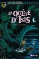 Couverture La Quête d'Isis Editions Nathan (Histoires noires de la mythologie) 2009