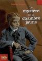 Couverture Le mystère de la chambre jaune Editions Folio  (Junior) 2007