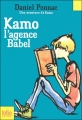 Couverture Kamo, tome 3 : L'agence Babel Editions Folio  (Junior) 2007