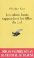 Couverture Les talons hauts rapprochent les filles du ciel Editions du Masque 2012