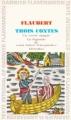 Couverture Trois contes Editions Garnier Flammarion 1965