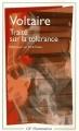 Couverture Traité sur la tolérance Editions Flammarion (GF) 1989