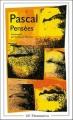 Couverture Pensées Editions Flammarion (GF) 1993