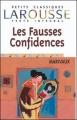 Couverture Les fausses confidences Editions Larousse (Petits classiques) 1999