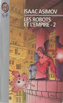 Couverture Les Robots et l'Empire, tome 2