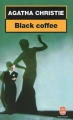 Couverture Black coffee Editions Le Livre de Poche 1998