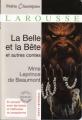 Couverture La Belle et la Bête et autres contes Editions Larousse (Petits classiques) 2011
