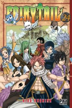 Couverture Fairy Tail, tome 24