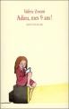Couverture Adieu, mes 9 ans ! Editions L'École des loisirs (Neuf) 2007