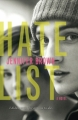 Couverture Hate list Editions Little, Brown and Company 2010