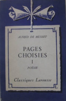 Couverture Pages choisies, tome 1 : Poésie