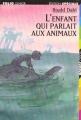Couverture L'enfant qui parlait aux animaux Editions Folio  (Junior - Edition spéciale) 1998