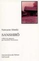 Couverture Sanshirô Editions Gallimard  (Connaissance de l'orient) 1995