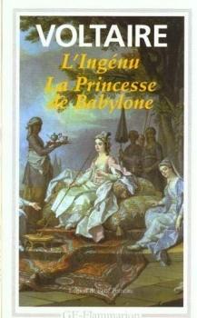 Couverture L'Ingénu, La Princesse de Babylone