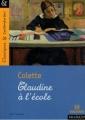 Couverture Claudine à l'école Editions Magnard (Classiques & Contemporains) 2012