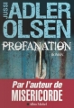 Couverture Département V, tome 2 : Profanation Editions Albin Michel 2012