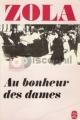 Couverture Au bonheur des dames Editions Le Livre de Poche 1979