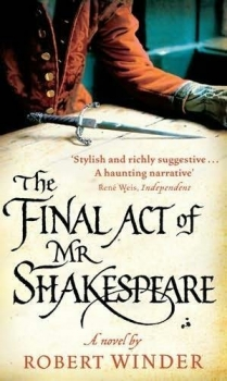 Couverture The final act of Mr Shakespeare