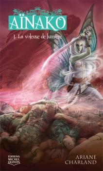 Couverture Aïnako, tome 1 : La Voleuse de lumière
