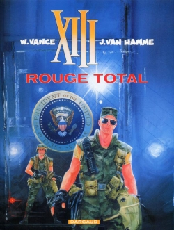 Couverture XIII, tome 05 : Rouge total