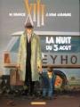 Couverture XIII, tome 07 : La Nuit du 3 août Editions Dargaud 2000