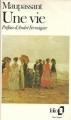 Couverture Une vie Editions Folio  1988