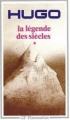 Couverture La légende des siècles (2 tomes), tome 1 Editions Flammarion (GF) 1999
