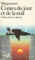 Couverture Contes du jour et de la nuit Editions Folio  1986