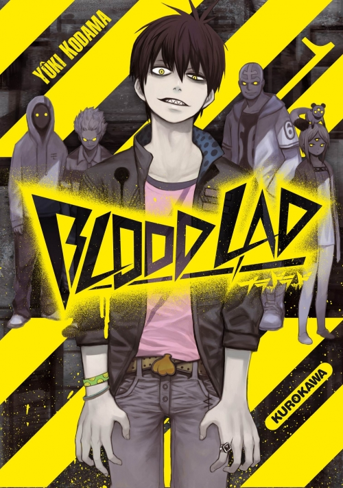 Couverture Blood Lad, tome 01