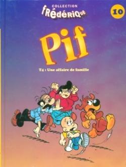 Couverture Pif, tome 4 : Une histoire de famille