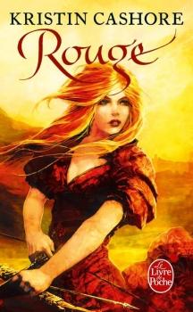 Couverture Graceling / La trilogie des sept royaumes, tome 2 : Rouge