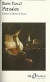 Couverture Pensées Editions Folio  (Classique) 1995