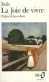 Couverture La joie de vivre Editions Folio  1992