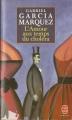 Couverture L'Amour aux temps du choléra Editions Le Livre de Poche 1998